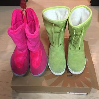 ナイキ(NIKE)のナイキ モック& adidasブーツセット!24㎝&24.5㎝!(ブーツ)