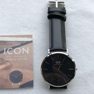 ダニエルウェリントン(Daniel Wellington)のダニエルウェリントン 腕時計 CLASSIC 40MM シルバー(腕時計(アナログ))