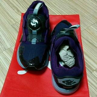 プーマ(PUMA)の23cmプーマディスクブレイズ紫新品(スニーカー)