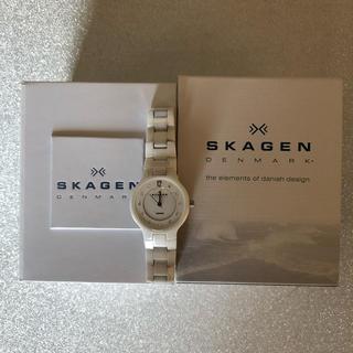 スカーゲン(SKAGEN)のSKAGEN PERSPECTIV 572SSXWC ホワイト セラミック(腕時計)