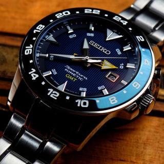 セイコー(SEIKO)のSEIKO スポーチュラ キネティック GMT  [逆輸入品](腕時計(アナログ))