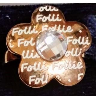 フォリフォリ(Folli Follie)のFolli Follie フォリフォリフラワーリング16号(リング(指輪))