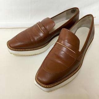 ザラ(ZARA)の【最終値下げ】ZARA ローファー サイズ40 26.5cm(ローファー/革靴)