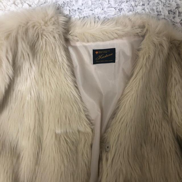 Kastane(カスタネ)のkastane ファージャケット レディースのジャケット/アウター(毛皮/ファーコート)の商品写真