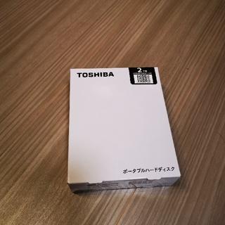 トウシバ(東芝)のティガー様 ポータブルハードディスク 2TB ブラック HDAD20AK3-FP(PC周辺機器)