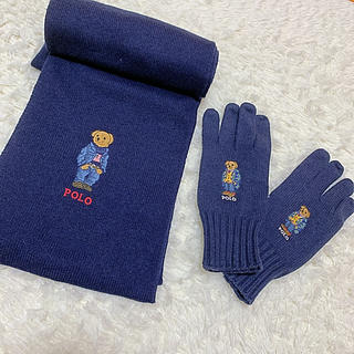 ポロラルフローレン(POLO RALPH LAUREN)のラルフローレン ポロベア マフラー 手袋(マフラー)