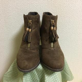 ショートブーツ ブーツ ブラウン(ブーツ)