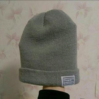 セシルマクビー(CECIL McBEE)の美品 CECIL McBEE セシルマクビー ニット帽(ニット帽/ビーニー)
