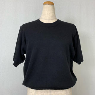 ●S373 used short sleeve knit tops(ニット/セーター)