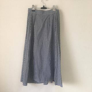 ドレスキップ(DRESKIP)のロングスカート ギンガムチェック Aラインスカート チェック dreskip(ロングスカート)