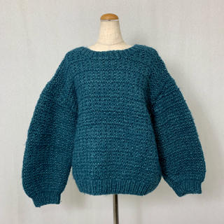 ●S385 used over size knit tops(ニット/セーター)