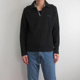 Calvin Klein - Calvin Klein カルバンクライン スキッパー ポロシャツ L