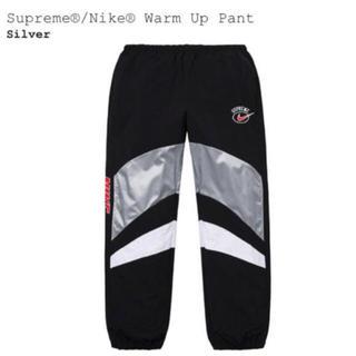 シュプリーム(Supreme)のsupreme nike warm up pant XS シルバー(その他)