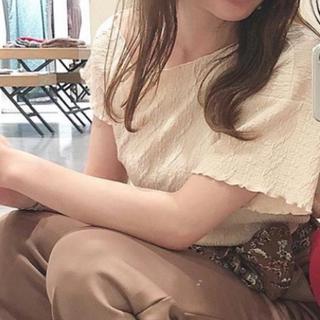 カスタネ(Kastane)のふくれTシャツ(Tシャツ(半袖/袖なし))