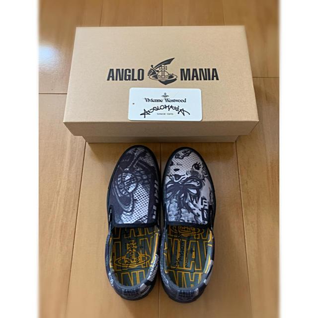 Vivienne Westwood(ヴィヴィアンウエストウッド)の新品未使用タグ付きヴィヴィアンウエストウッドアングロマニアメリースリッポン レディースの靴/シューズ(スリッポン/モカシン)の商品写真