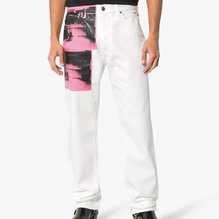 カルバンクライン(Calvin Klein)のラフ・シモンズ CALVIN KLEIN 205w39nyc デニムパンツ(デニム/ジーンズ)