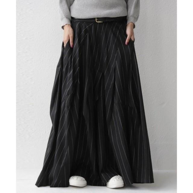 antiqua(アンティカ)のアンティカ 切り替えロングスカート(ZOZO限定) レディースのスカート(ロングスカート)の商品写真