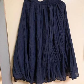 サマンサモスモス(SM2)のスカート ギャザー(ロングスカート)