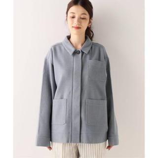 スピックアンドスパン(Spick and Span)のspik&span 新作 nuenotes ウールシャツジャケット(その他)