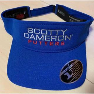 スコッティキャメロン(Scotty Cameron)のスコッティキャメロン サークルTバイザー ブルー サンバイザー 正規品 限定品(その他)