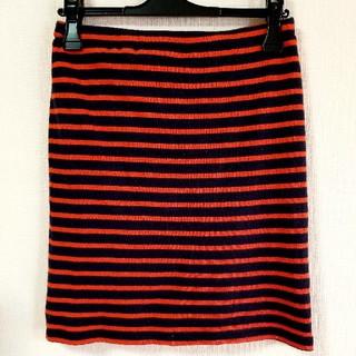ドゥーズィエムクラス(DEUXIEME CLASSE)のSHINZONE ボーダータイトスカート(ミニスカート)