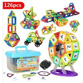 マグネットブロック 磁気おもちゃ(知育玩具)
