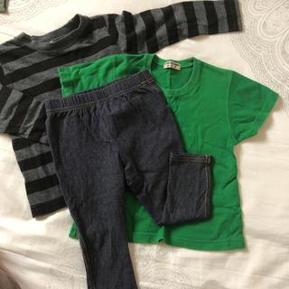 コムサイズム(COMME CA ISM)のコムサイズムパンツ、ロンT、Tシャツセット(パンツ)