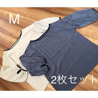 ベルメゾン - ♡ブラウス2枚セット♡ M とろみ素材