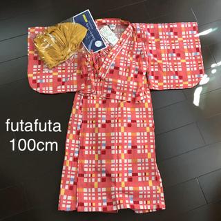 フタフタ(futafuta)のfutafuta セパレート浴衣ドレス 帯付き(甚平/浴衣)