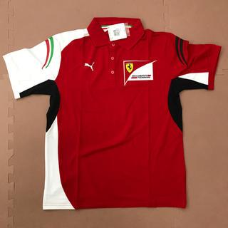 プーマ(PUMA)のプーマ フェラーリ SFチーム ポロシャツ サイズL(ポロシャツ)