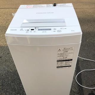 トウシバ(東芝)のTOSHIBA  東芝電気洗濯機   AW-45M7     2018年製 (洗濯機)