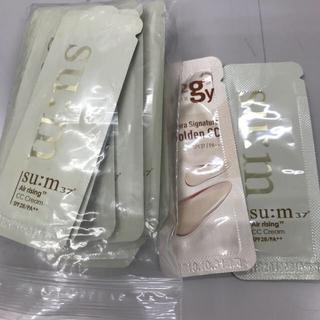 スム(su:m37°)のミサテクさん専用Sum スム CCクリーム  28個+おまけ2個(ファンデーション)