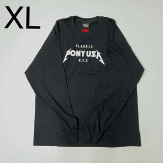 ポニー(PONY)のPONY ビッグシルエット ロングスリーブTシャツ(Tシャツ/カットソー(七分/長袖))
