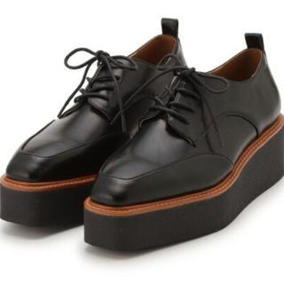 ミラオーウェン(Mila Owen)の完売商品♥オックスフォードシューズBLK38(ローファー/革靴)