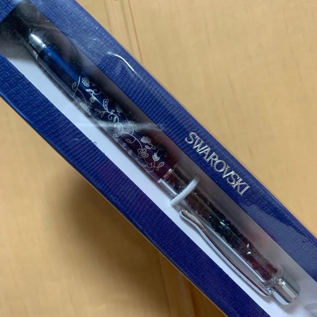 SWAROVSKI(スワロフスキー)の【新品未使用】SWAROVSKI BALLPEN インテリア/住まい/日用品の文房具(ペン/マーカー)の商品写真