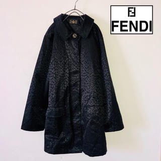 フェンディ(FENDI)のフェンディ  コート FENDI レオパード レディース イタリア製 ブランド(ロングコート)