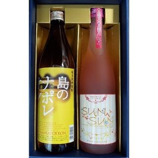 黒糖焼酎 島のナポレオン+sunsun(焼酎)
