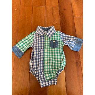 ベビーギャップ(babyGAP)の★baby Gap ロンパース 男の子 0〜3ヶ月 50cm 長袖 半袖 ★(ロンパース)
