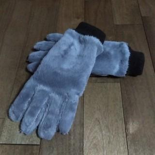 ユニクロ(UNIQLO)のUNIQLO 新品 藤色手袋(手袋)