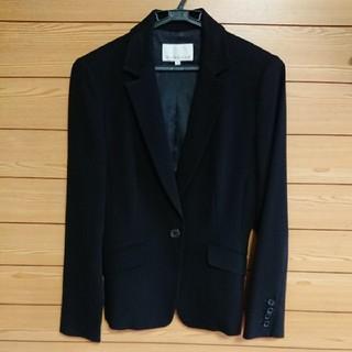 エムプルミエ(M-premier)のエムプルミエ スーツ上着 ジャケット ブラック 36(テーラードジャケット)