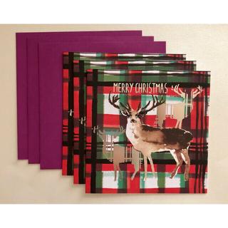 クリスマスカード イギリス製 3枚セット 封筒付き(カード/レター/ラッピング)