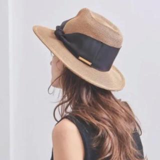 バーニーズニューヨーク(BARNEYS NEW YORK)のアシーナニューヨーク カミラ 帽子(麦わら帽子/ストローハット)