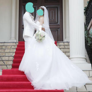 ウェディングドレス タキシード セット(ウェディングドレス)