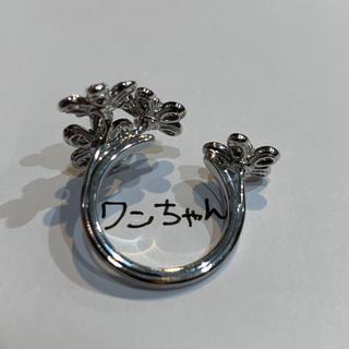 確実本物ヴァンクリーフアーペル ソクラテスアントレドアリング WG 49号(リング(指輪))
