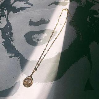 トゥデイフル(TODAYFUL)のLucid chain choker necklace マリア メダイ コイン(ネックレス)