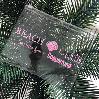 シールームリン(SeaRoomlynn)のsearoomlynn beach club♡ビニールポーチ(ノベルティグッズ)