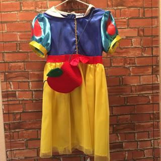 白雪姫 - 白雪姫 ドレス120-130 りんごポシェット付き