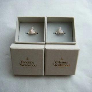 ヴィヴィアンウエストウッド(Vivienne Westwood)のヴィヴィアンウエストウッド オーブ ストーン リング セット 正規品未使用(リング(指輪))