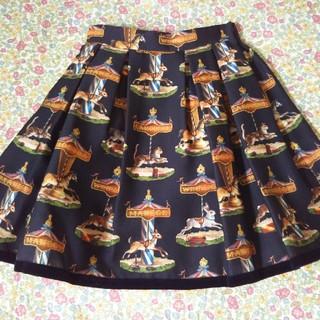 ジェーンマープル(JaneMarple)のリボンさま専用ジェーンマープル カルーセルスカート 新品(ミニスカート)