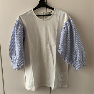ミスティック(mystic)のmystic ストライプT(Tシャツ(長袖/七分))